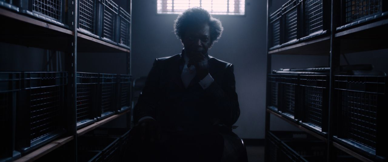 GLASS..Mr. Glass (Samuel L. Jackson)..Photo: Film Frame..©Universal Pictures