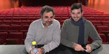 Moldavsky recorriendo el Teatro Maravillas