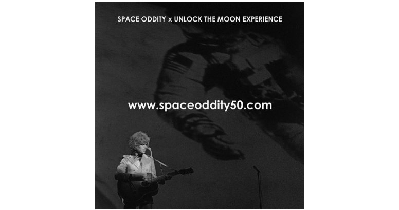 David Bowie | 50° Aniversario: 🚀 SPACE ODDITY x UNLOCK THE MOON EXPERIENCE 🌙
