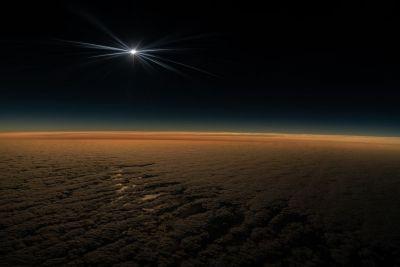 Eclipse desde un avión en Chile, Armando Vega, Explorador de National Geographic (4)