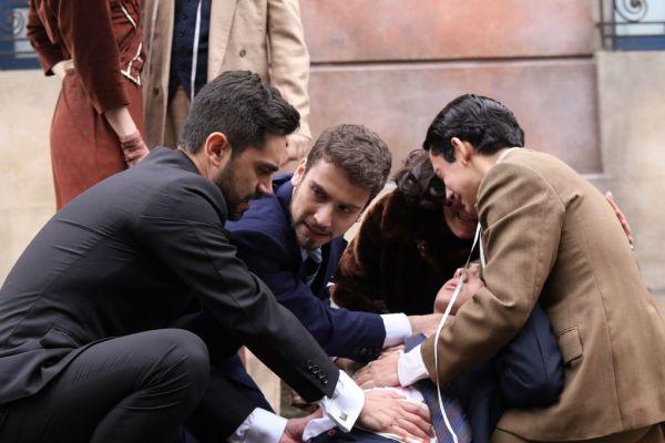 MOretti, Bruno con Nino herido
