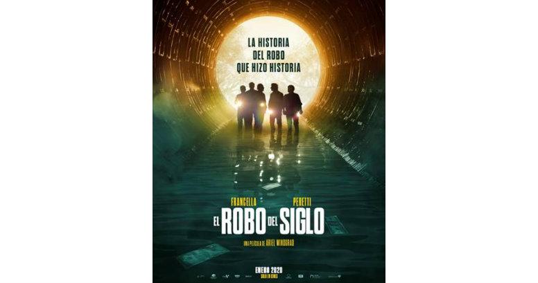 PRIMER POSTER Y ANUNCIO DE TRAILER DE ''EL ROBO DEL SIGLO'' DE ARIEL WINOGRAD