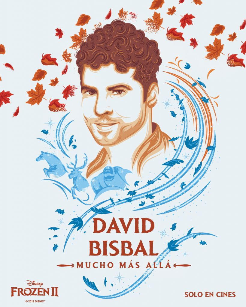David Bisbal...Frozen 2
