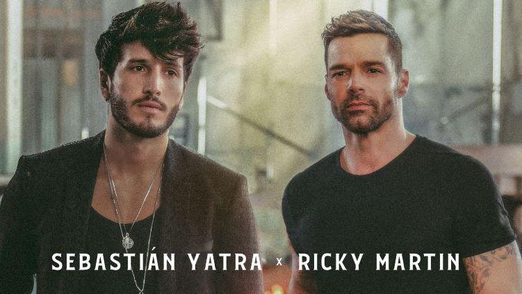 Nuevo lanzamiento de Sebastián Yatra, Ricky Martin ''Falta Amor'' de Universal Music Argentina