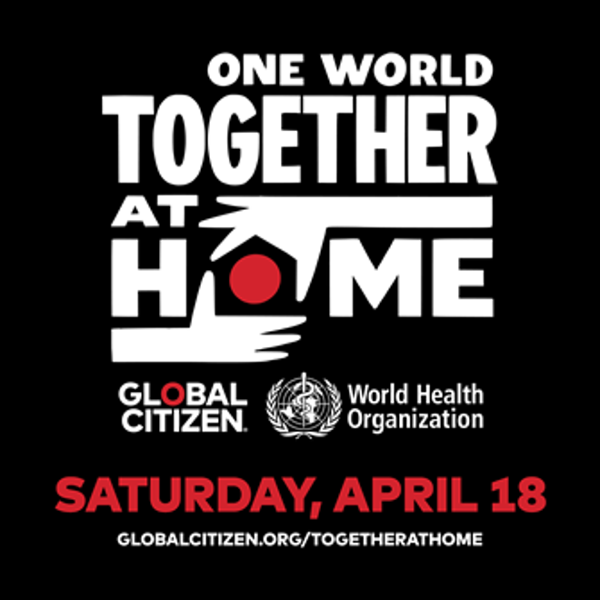 ''ONE WORLD: TOGETHER AT HOME'' SUMA MÁS ARTISTAS AL ESPECIAL QUE SE EMITIRÁ ESTE SABADO 18/4 EN VIVO.