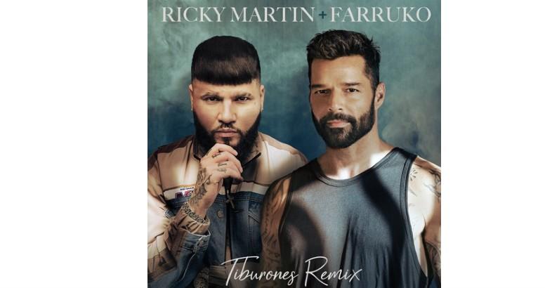 RICKY MARTIN estrena el video de su éxito TIBURONES (REMIX) junto a FARRUKO